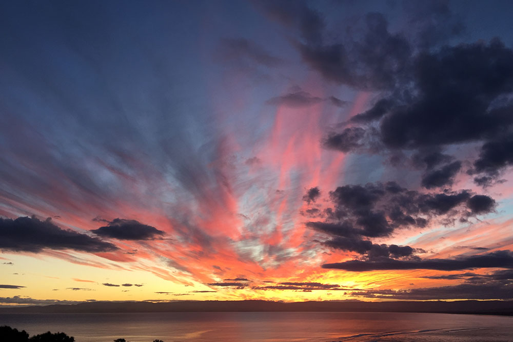 Coles Bay Holiday House - The Freycinet Dream - Sunset Great Oyster Bay